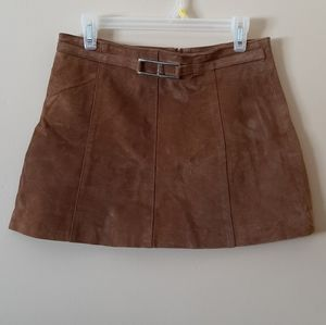 Le Chateau Suede Skirt